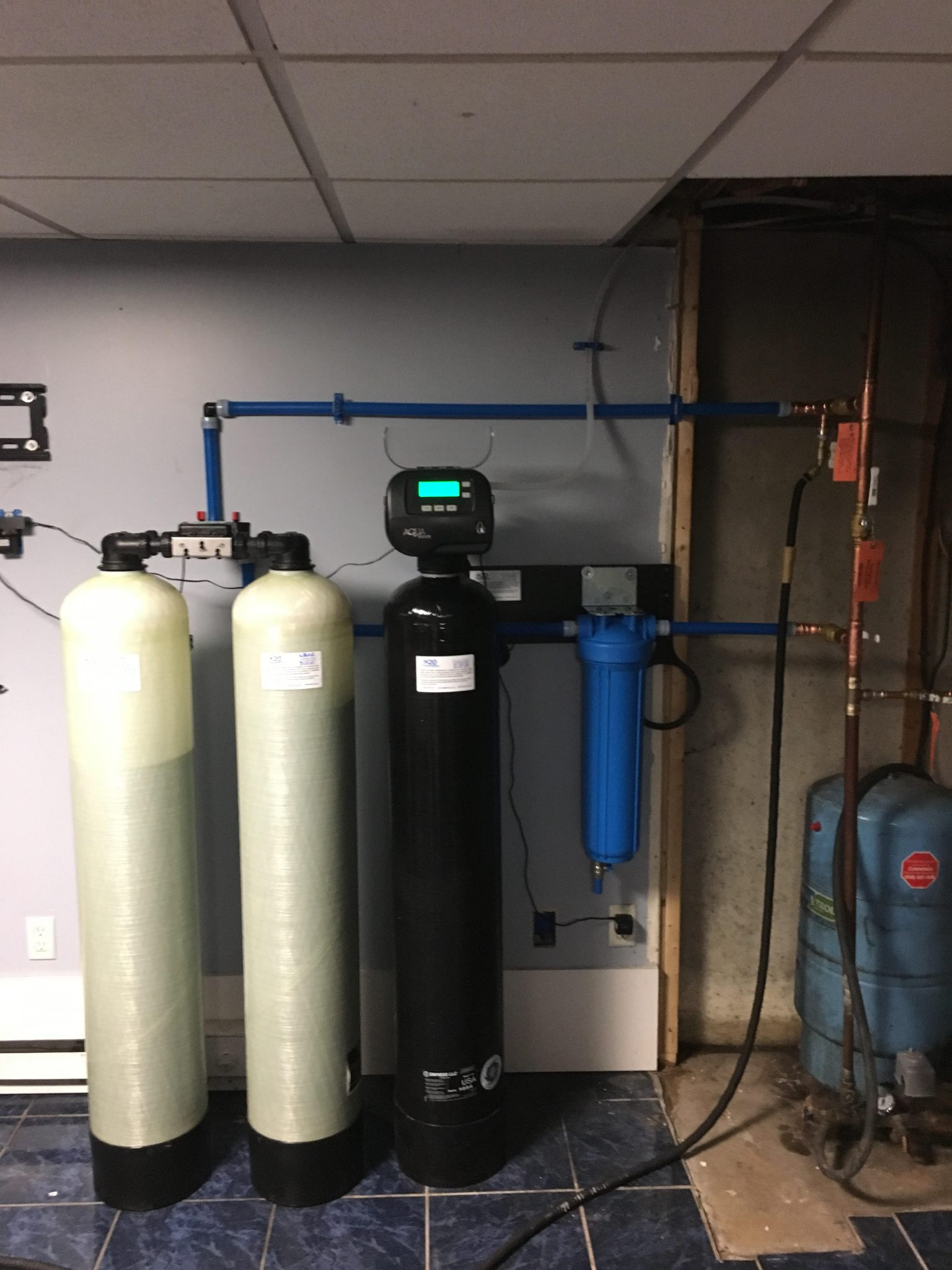 twin arsenic ozone filtration