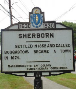 Rotten egg smell in water in Sherborn, MA