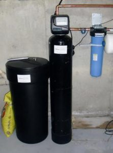 hard water softener Hanson MA