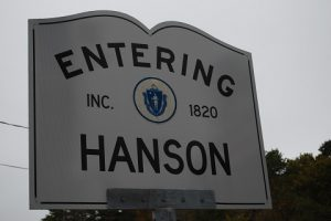 hard water in Hanson, MA