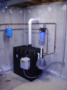 Water filtration for Radon Ayers, Ma