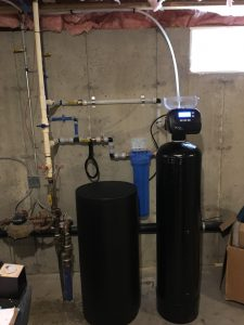 replacement of water softener Bedford, MA